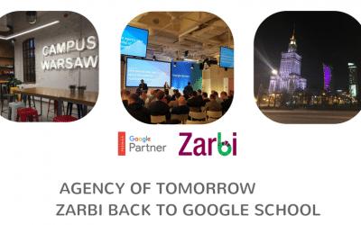 Agency of Tomorrow – Zarbi Back to Google School