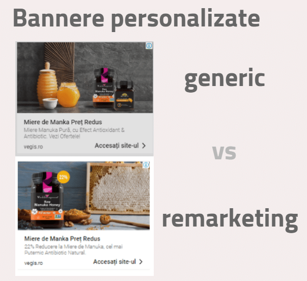 Bannere online personalizate
